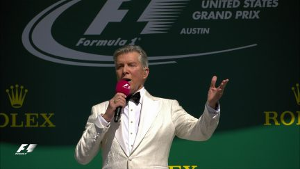 The big build up: Michael Buffer's driver introductions in Austin
