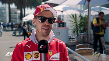 Secrets of success... Sebastian Vettel's tips for a hot lap in Mexico