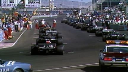 F1 Vault: Racing in a Las Vegas car park