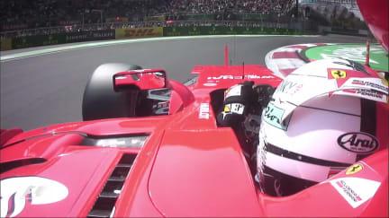 Onboard pole position lap - Sebastian Vettel, Mexico 2017
