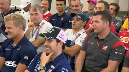 Inside the drivers' briefing - USA