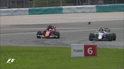 Race: Vettel and Stroll collide after the chequered flag