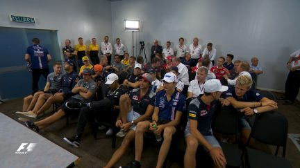 Inside the drivers' briefing - Malaysia