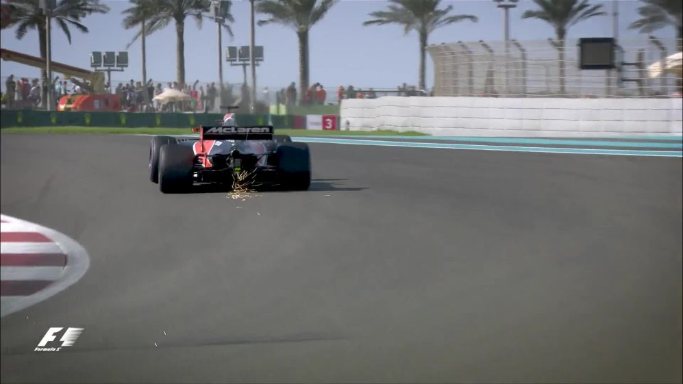 FP3 action from Abu Dhabi
