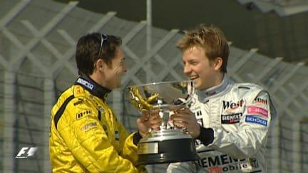 F1 Vault: Fisichella wins amid Interlagos chaos