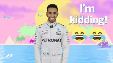 Quickfire F1: Which driver would you take to a desert island?