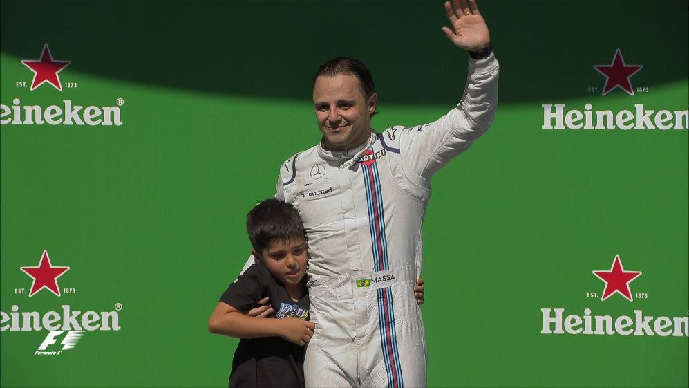 Massa's emotional final race on home soil