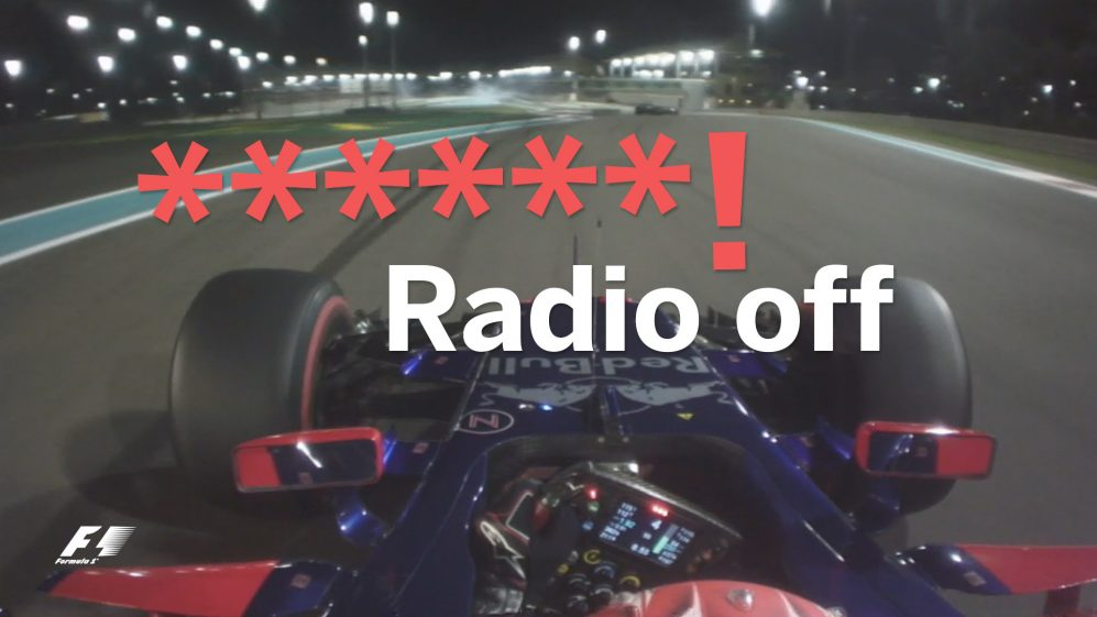 Say What? The best of team radio in Abu Dhabi