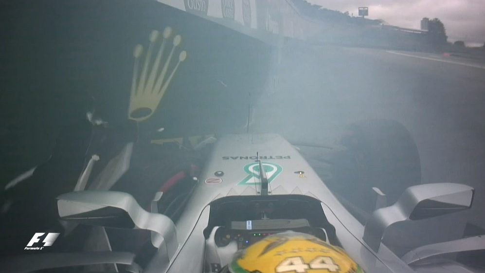 Qualifying: Hamilton crashes out at start of Q1 in Brazil