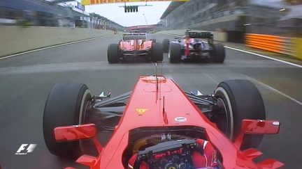 Classic onboard: Alonso's amazing two-in-one overtake