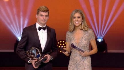 FIA Awards: Max Verstappen wins Personality of the Year