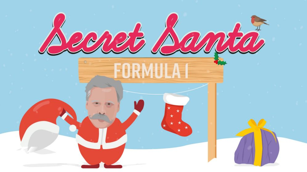 F1 Secret Santa – what did the drivers get each other for Christmas?