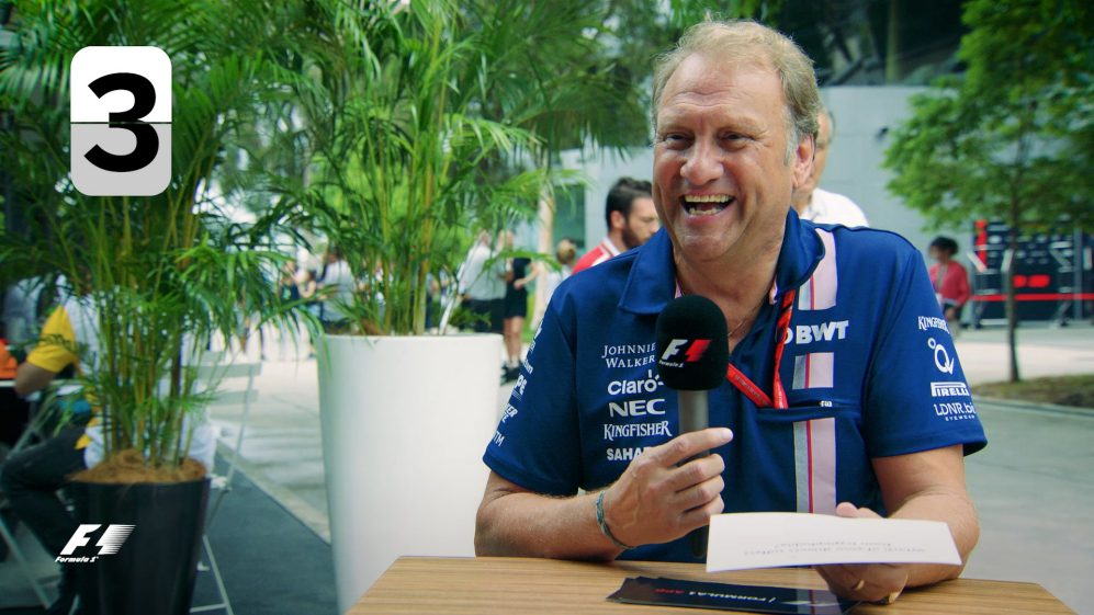 Grill the Grid: F1 Bosses - Bob Fernley