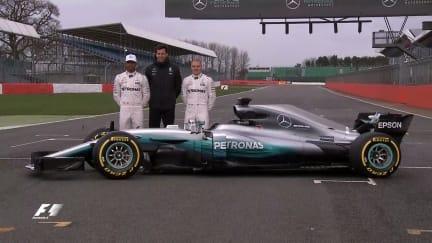 World champions Mercedes unveil 2017 challenger