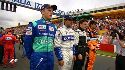 F1 Vault: Raikkonen and Alonso's F1 debuts