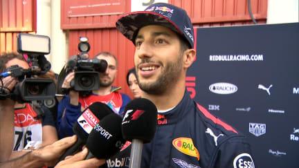 Ricciardo: Red Bull not at Ferrari or Mercedes level