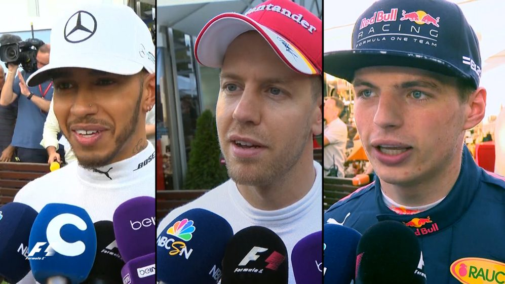 Drivers report back after qualifying in Australia