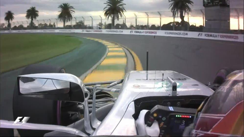 Onboard pole position lap - Lewis Hamilton, Australia 2017