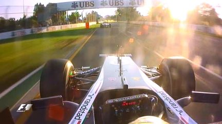 Classic onboard: Maldonado comes unstuck chasing Alonso