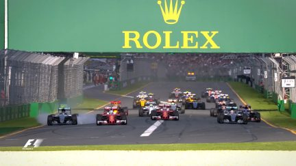 Re-live last year's race in Australia
