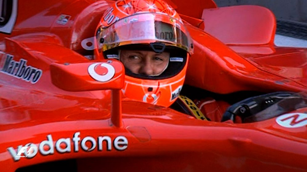 F1 Vault: Third time lucky for Schumacher in Shanghai