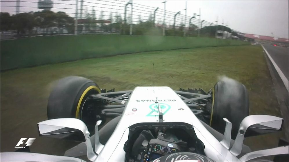 Race - Bottas spins behind Safety Car in China