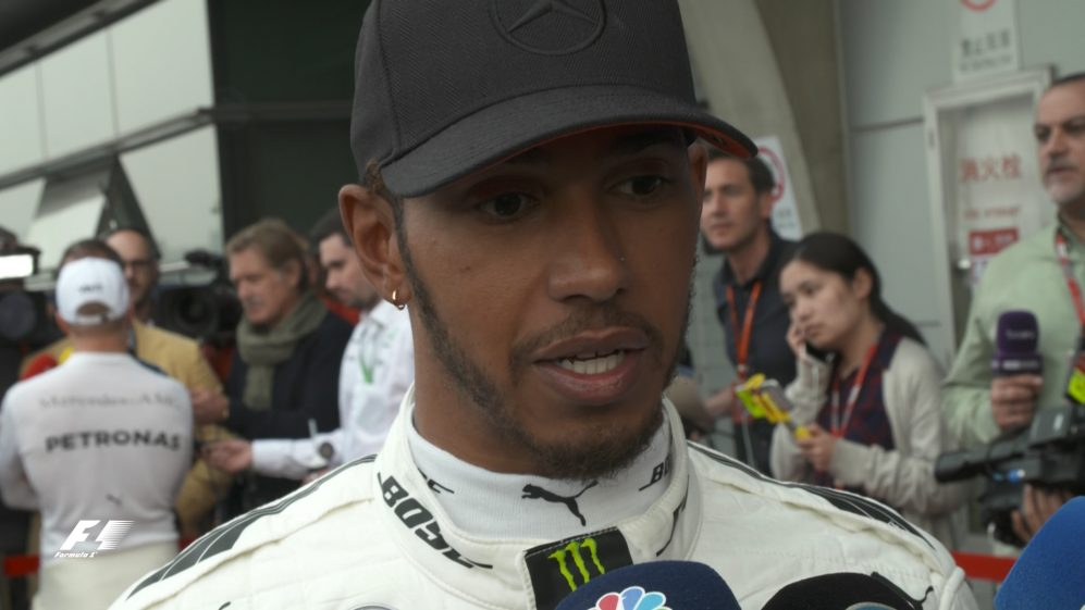 Drivers report back after qualifying in China