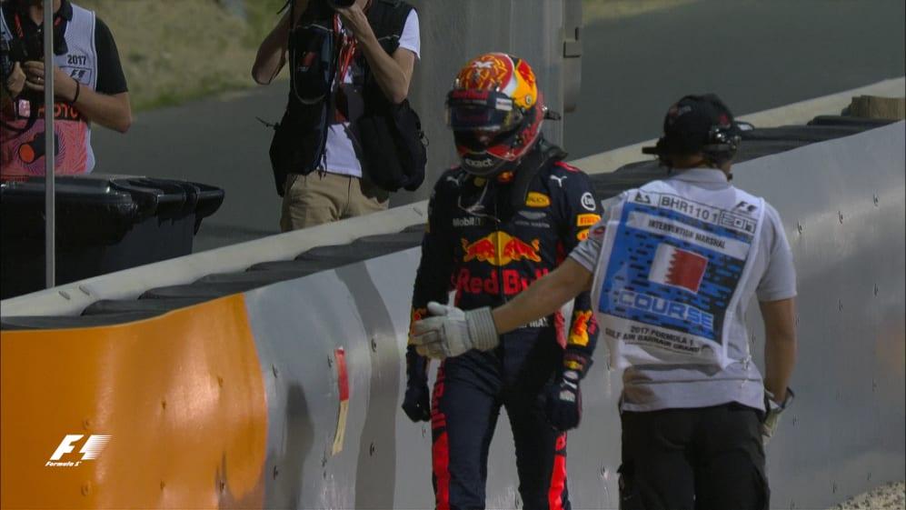 Race: Brake failure ends Verstappen's Bahrain hopes