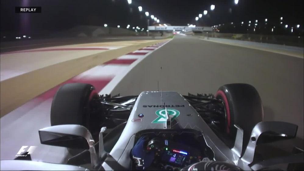 Onboard pole position lap - Valtteri Bottas, Bahrain 2017
