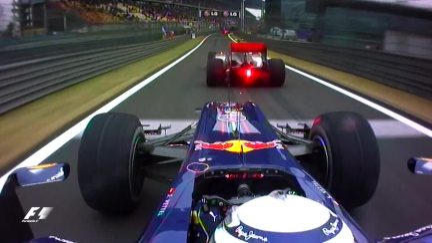 Classic Onboard: Vettel and Hamilton's pit lane battle
