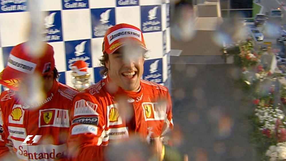 F1 Vault: Alonso tastes victory on Ferrari debut