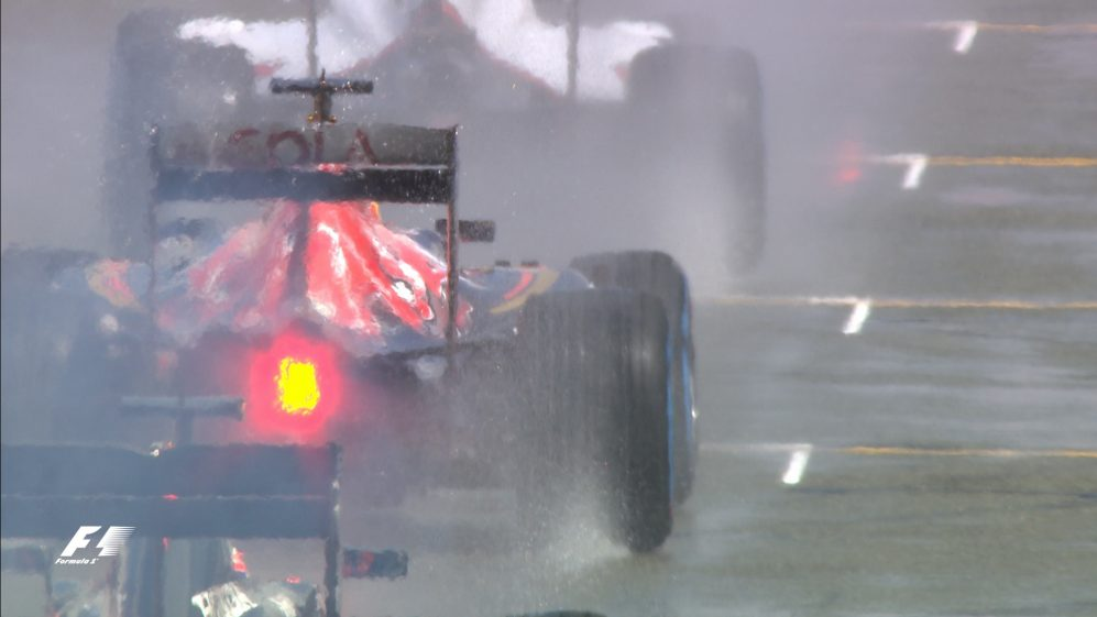 F1 explained: 2017's new wet-weather start rules