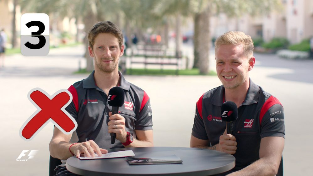 Grill the Grid: Haas team mates