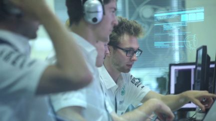 The Digital Transformation of F1
