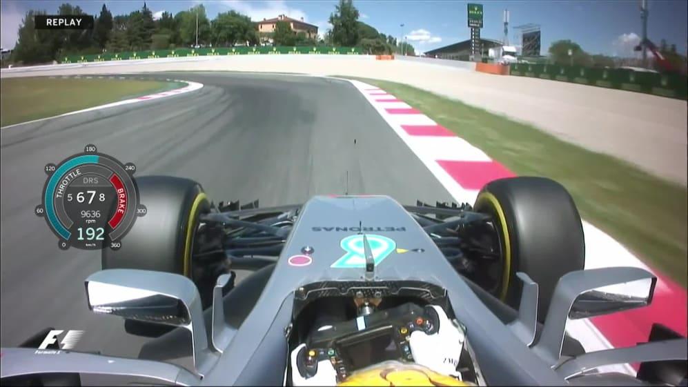 Onboard pole position lap - Lewis Hamilton, Spain 2017