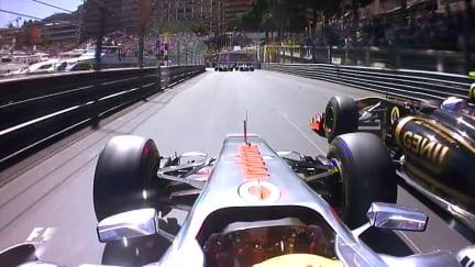 Classic onboard: Hamilton's manic Monaco lap in 2011
