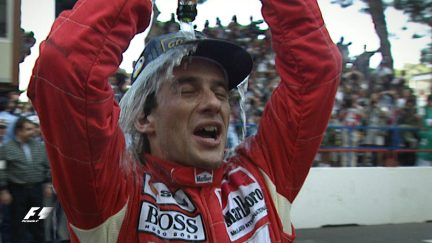 F1 Vault: Senna's mastery of Monaco