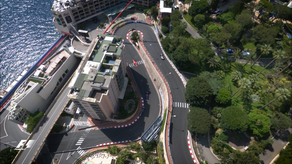 FP3 action from Monaco