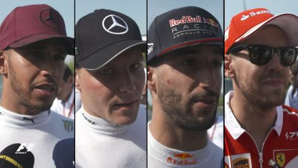 Drivers report back after the race in Canada
