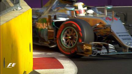 F1 Vault: Hamilton's weekend unravels in Azerbaijan