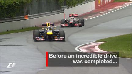 F1 Vault: Last-gasp Button denies Vettel
