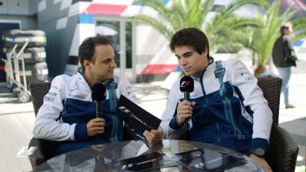 Grill the Grid: Williams team mates