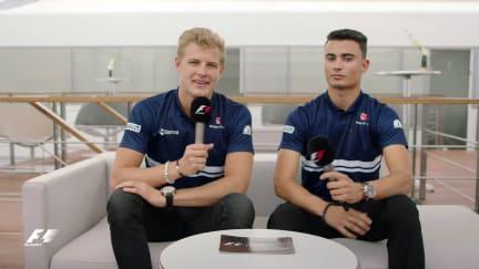 Grill the Grid: Sauber team mates