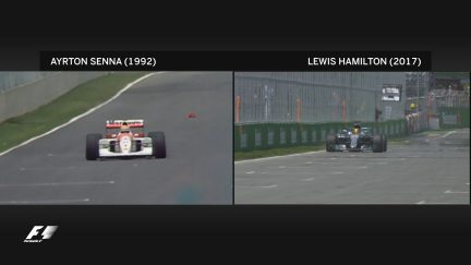 Hamilton matches Senna in Montreal - two poles, 25 years apart