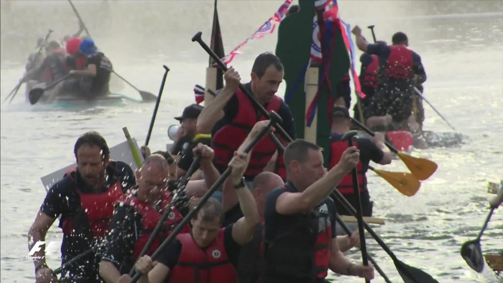 F1 back on the water – Montreal's famous raft race revived