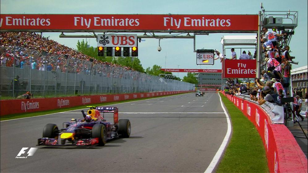 F1 Vault: Ricciardo's charging maiden win