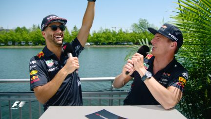 Grill the Grid: Red Bull team mates