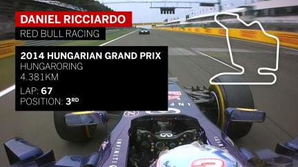 Classic onboard: Ricciardo battles past Hamilton and Alonso