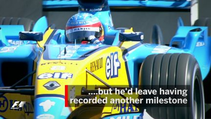 F1 Vault: Alonso becomes F1's youngest winner