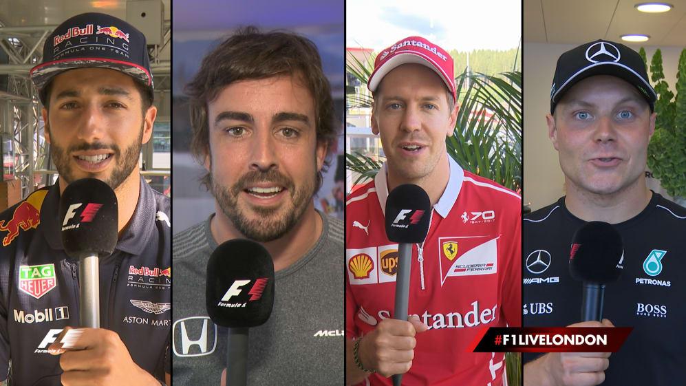 Introducing F1 Live London